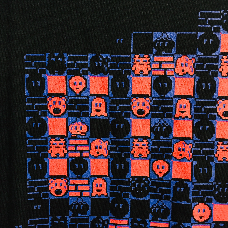 ボンバーマン Tシャツ ( ブラック × ピンク ) / VIDEO GAME TOKYO