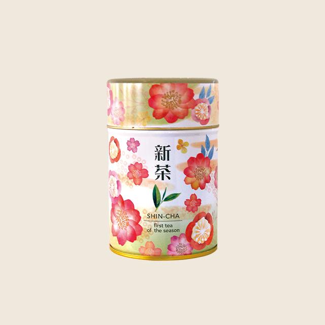 新茶ティーバッグ(2g × 10個缶入)