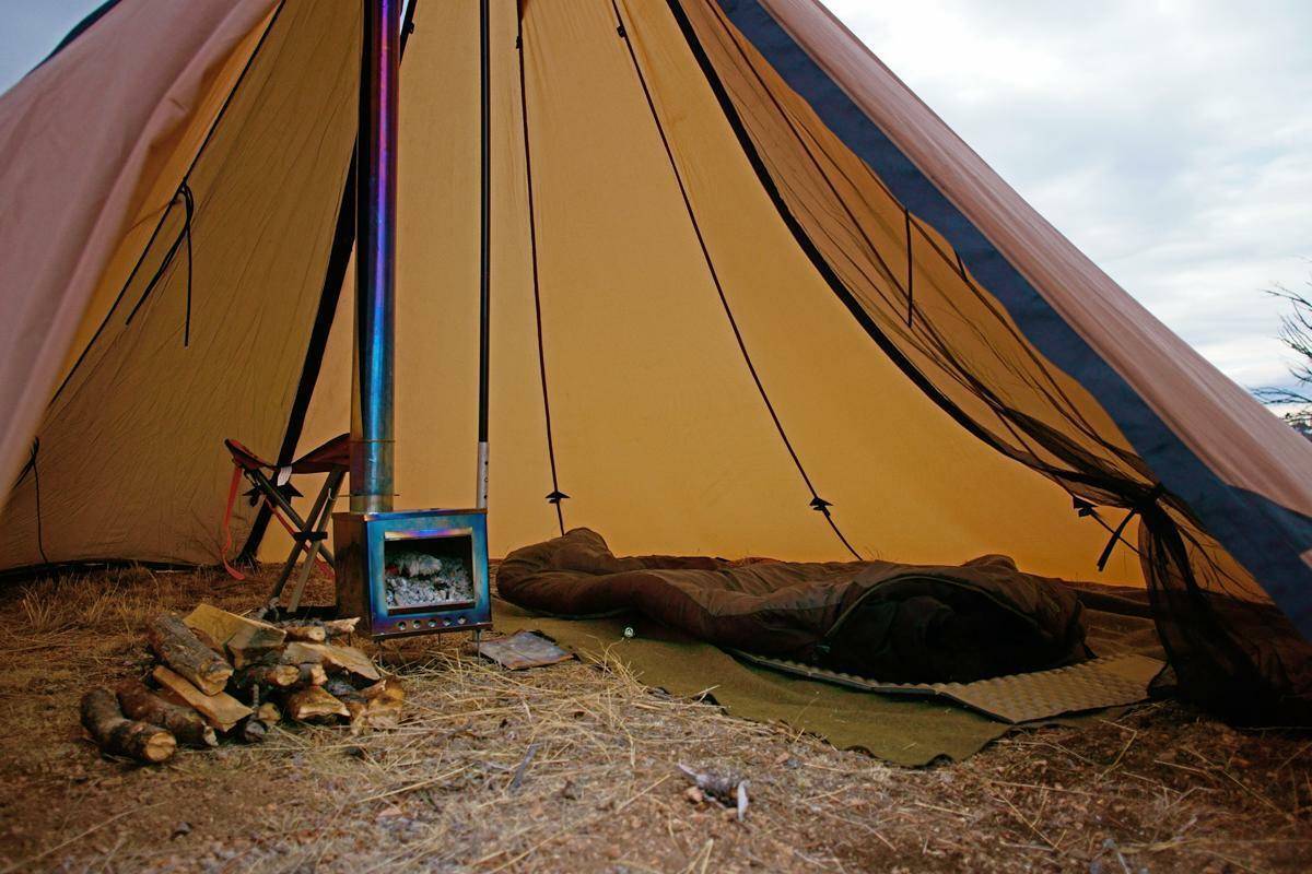 レッド クリフ テント ティピーテント レッドクリフ 6人用 ワンポール