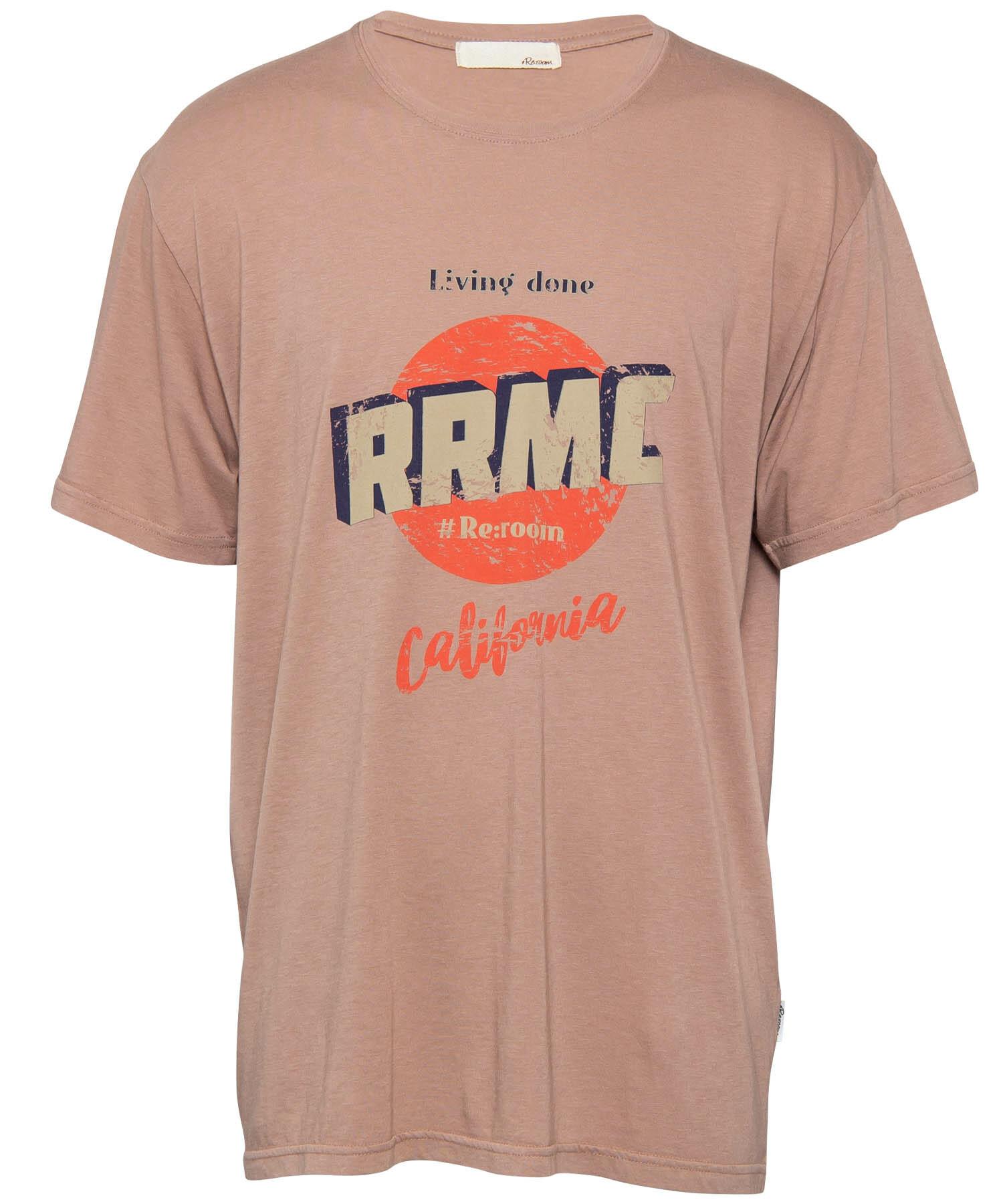 RRMC LOGO PRINT VINTAGE T-shirt[REC301]