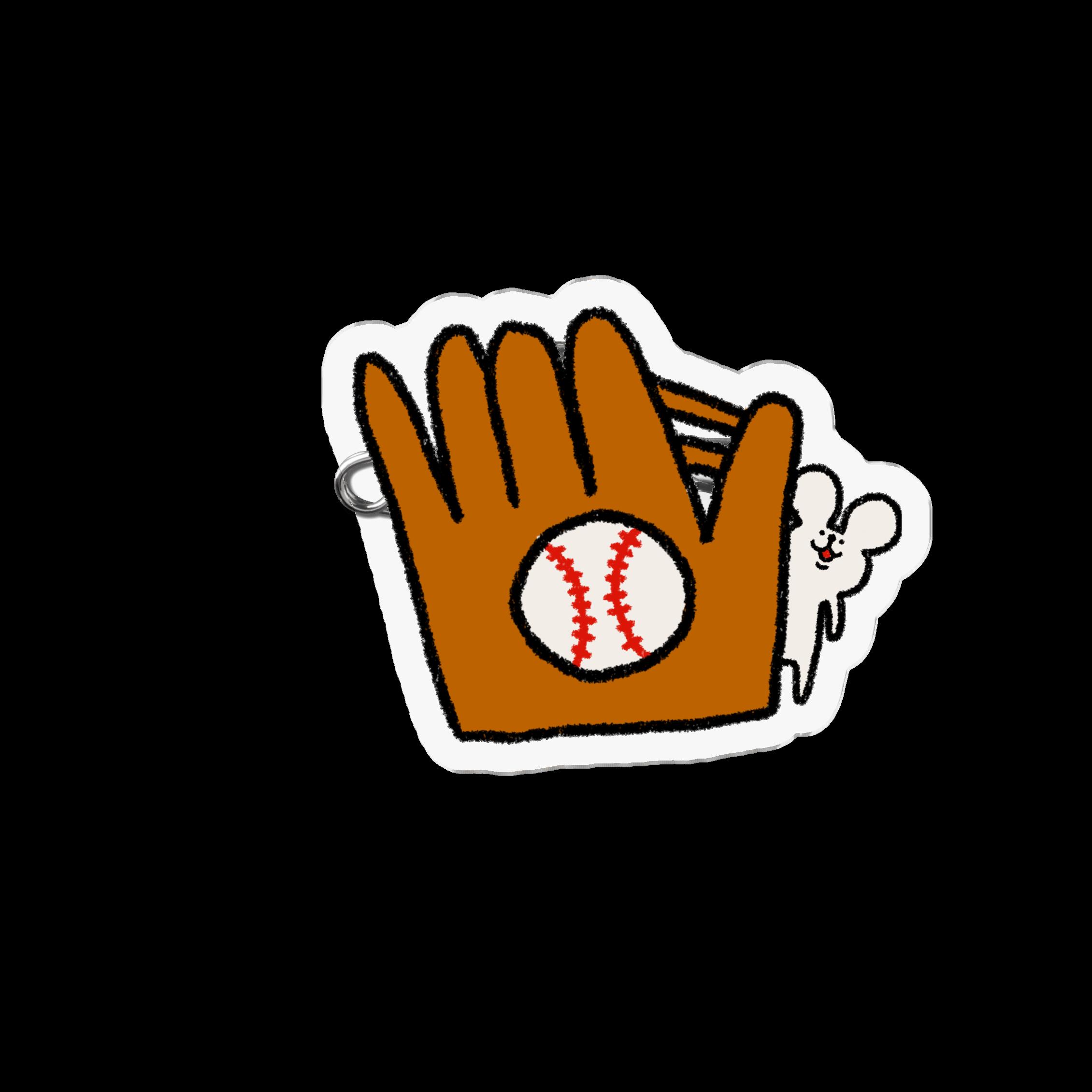 アクリルバッジ|野球しようや!