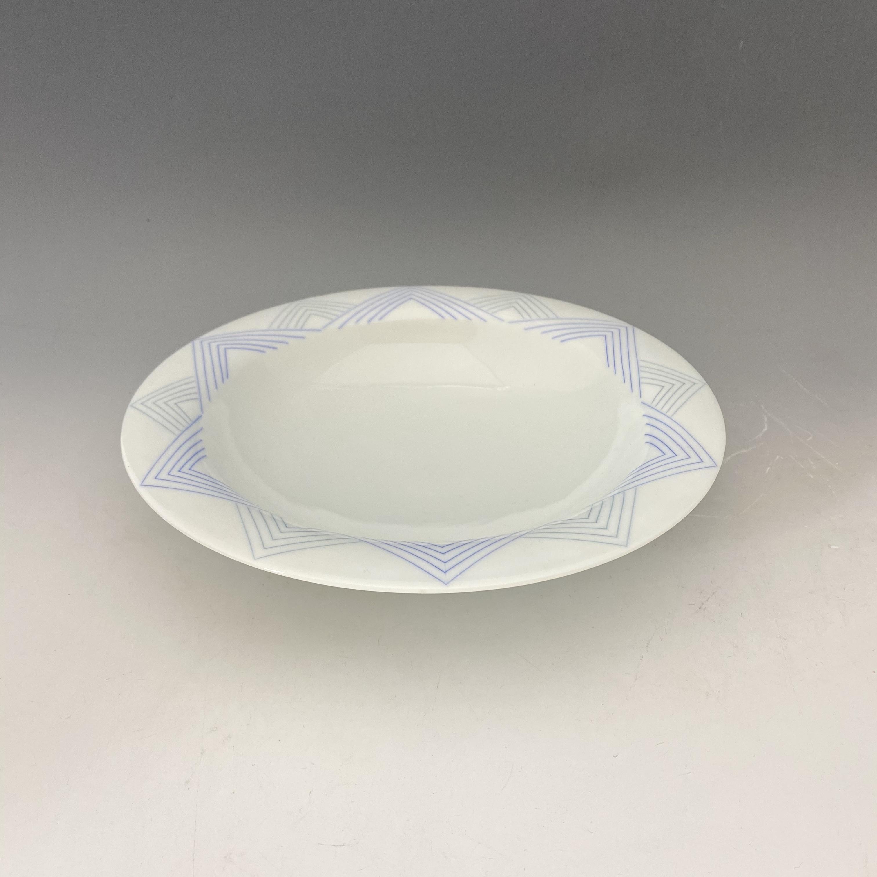 【中尾恭純】彩色象嵌カレー皿
