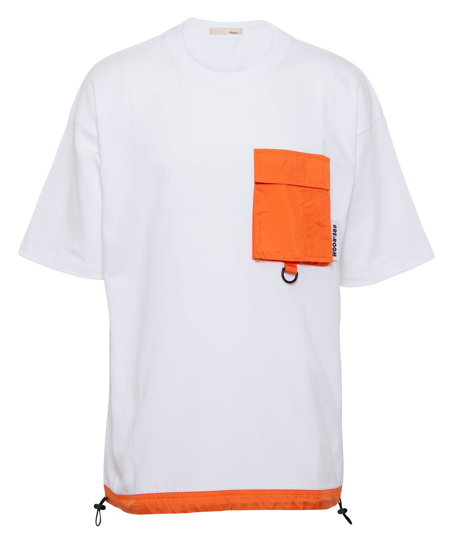 NYLON POCKET BIG T-shirt[REC379]