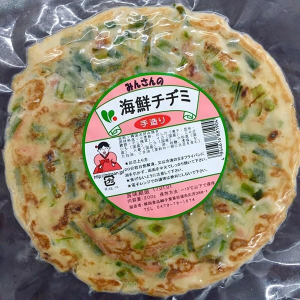 みんさんの海鮮チヂミ(200g1枚) - 画像1