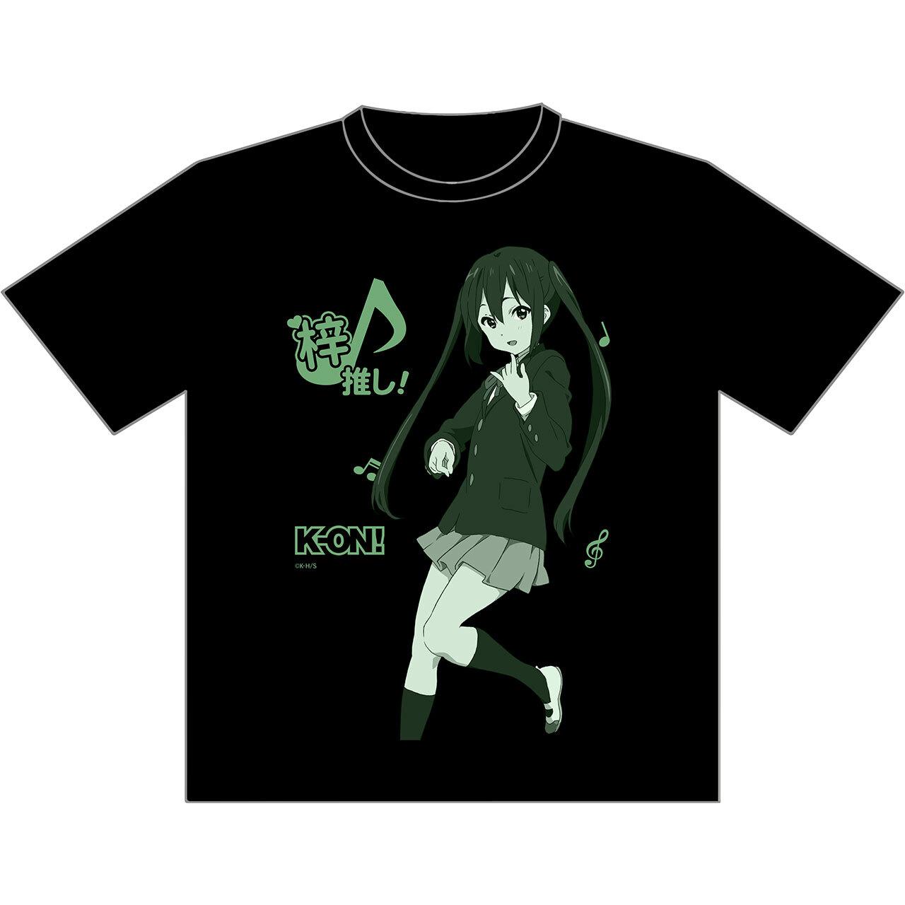 【4589839351140】けいおん! 推しTシャツ 梓XL