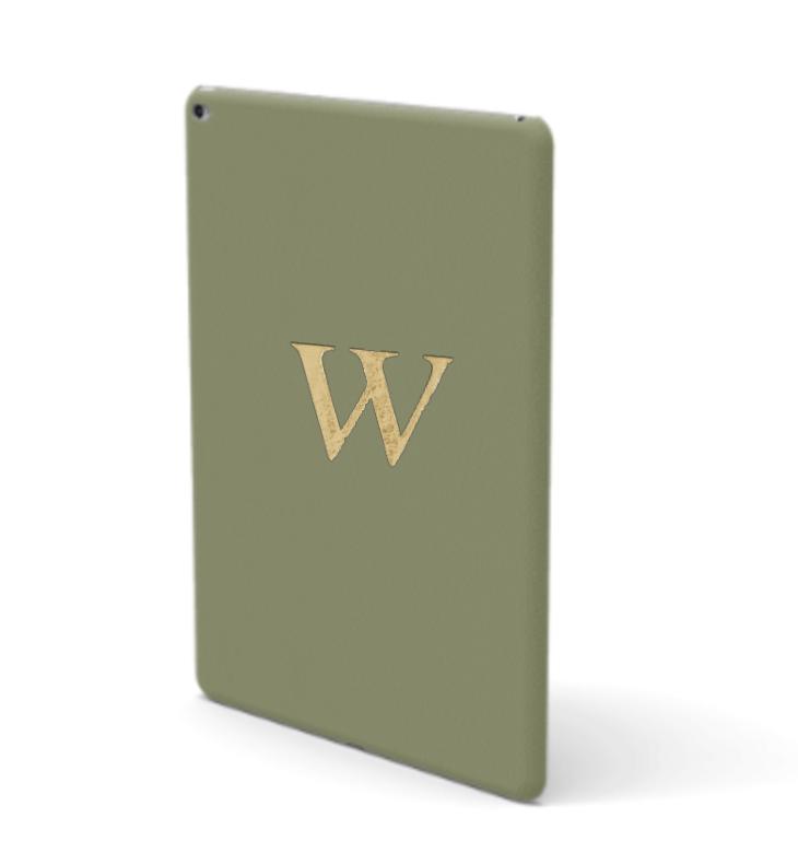 iPad Premium Smooth Leather Case (Green Tea)
