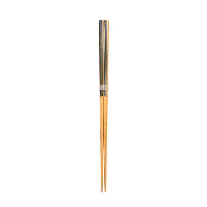 特上スリム麺箸(黒) 【45-087】