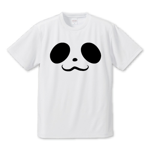 「パンダ」Tシャツ
