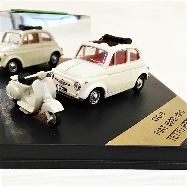 FIAT 500D 1960 TETTO APRIBILE 1/43【VITESSE】【1セットのみ】【税込価格】