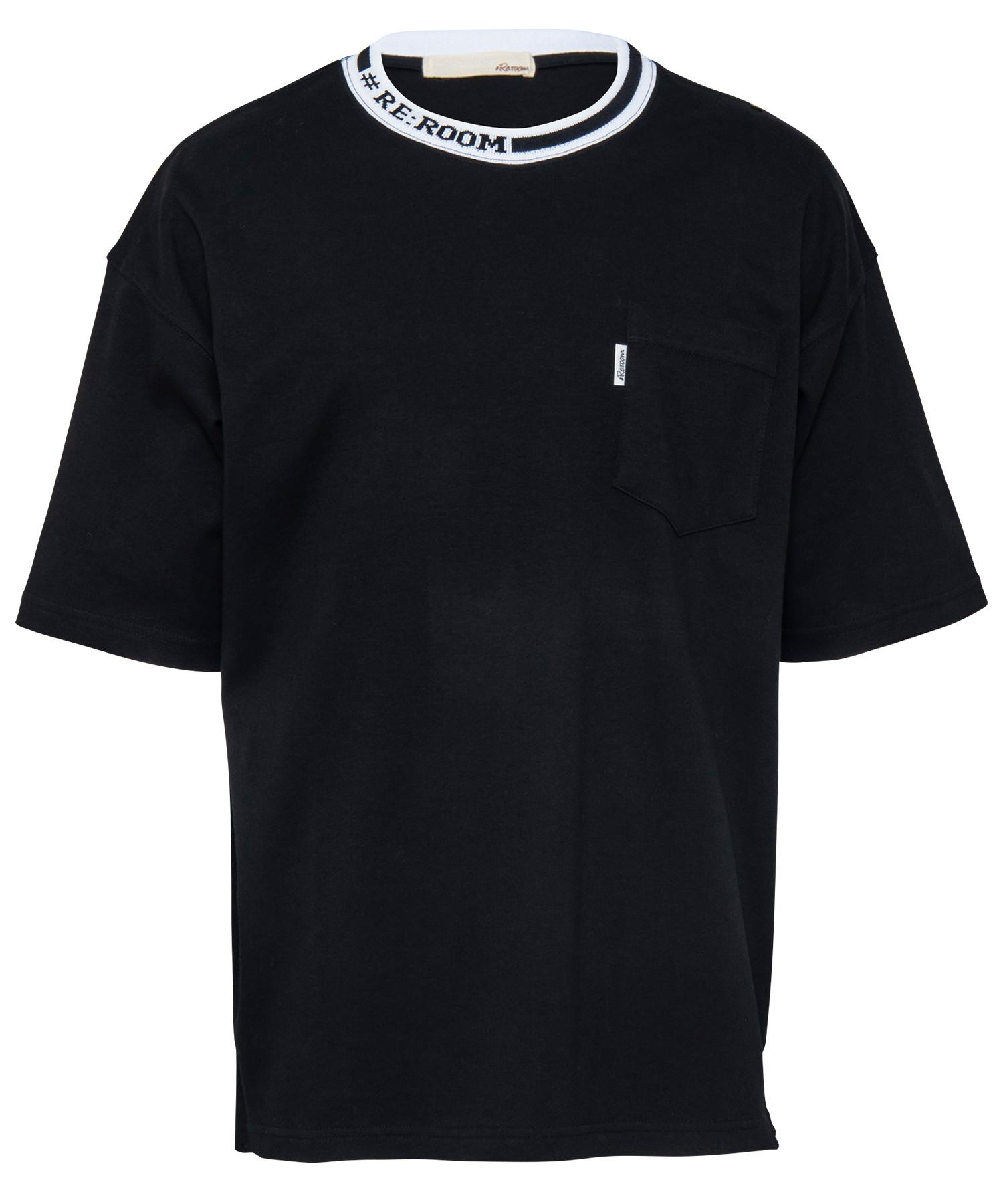 NECK LOGO BIG T-shirt[REC277]