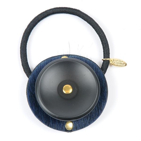 Joe17SS-25 button leather gom (black)