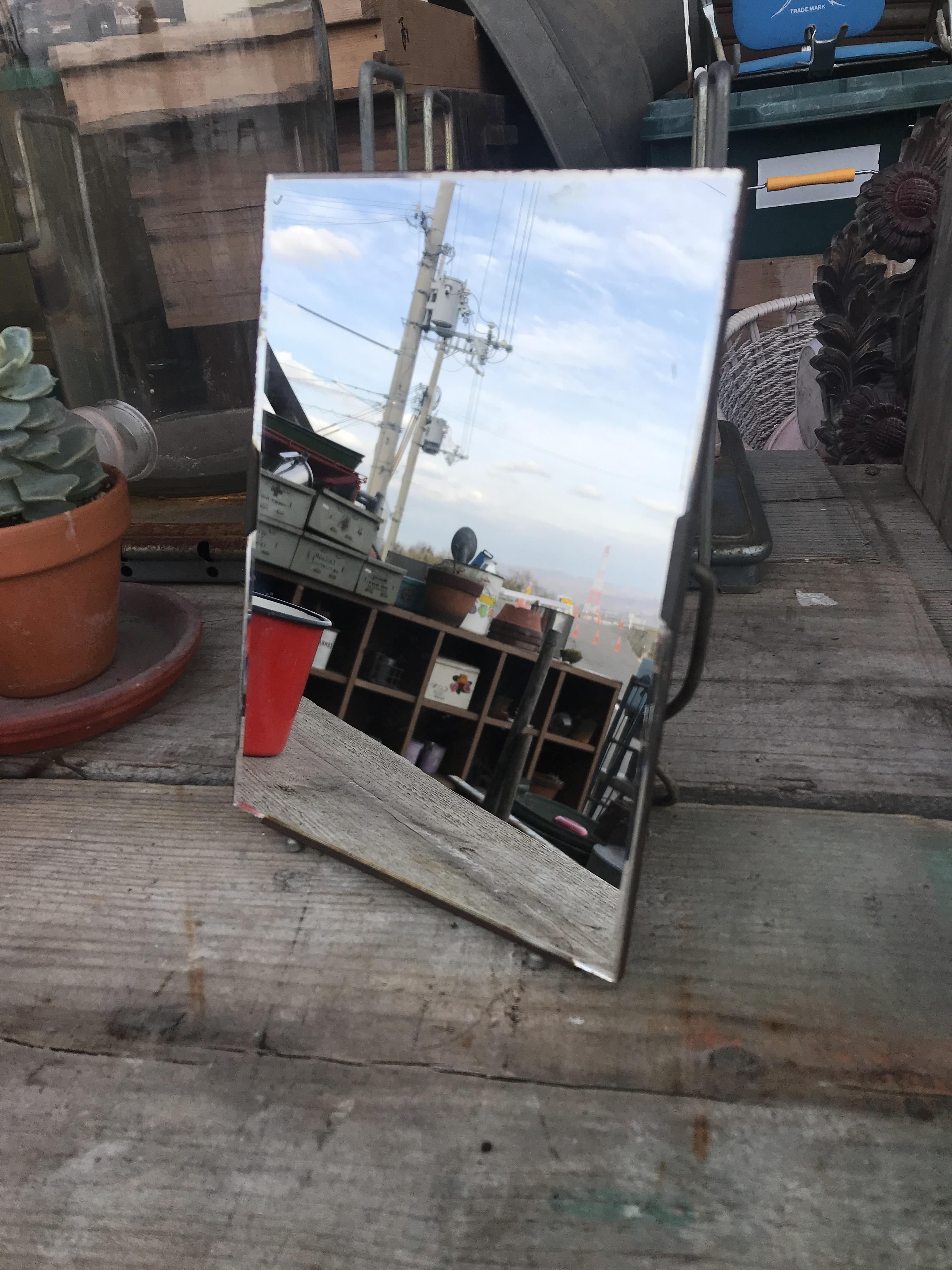 レトロな鏡