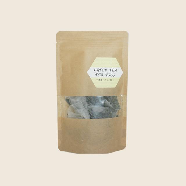 緑茶ティーバッグ (5g x 10個)