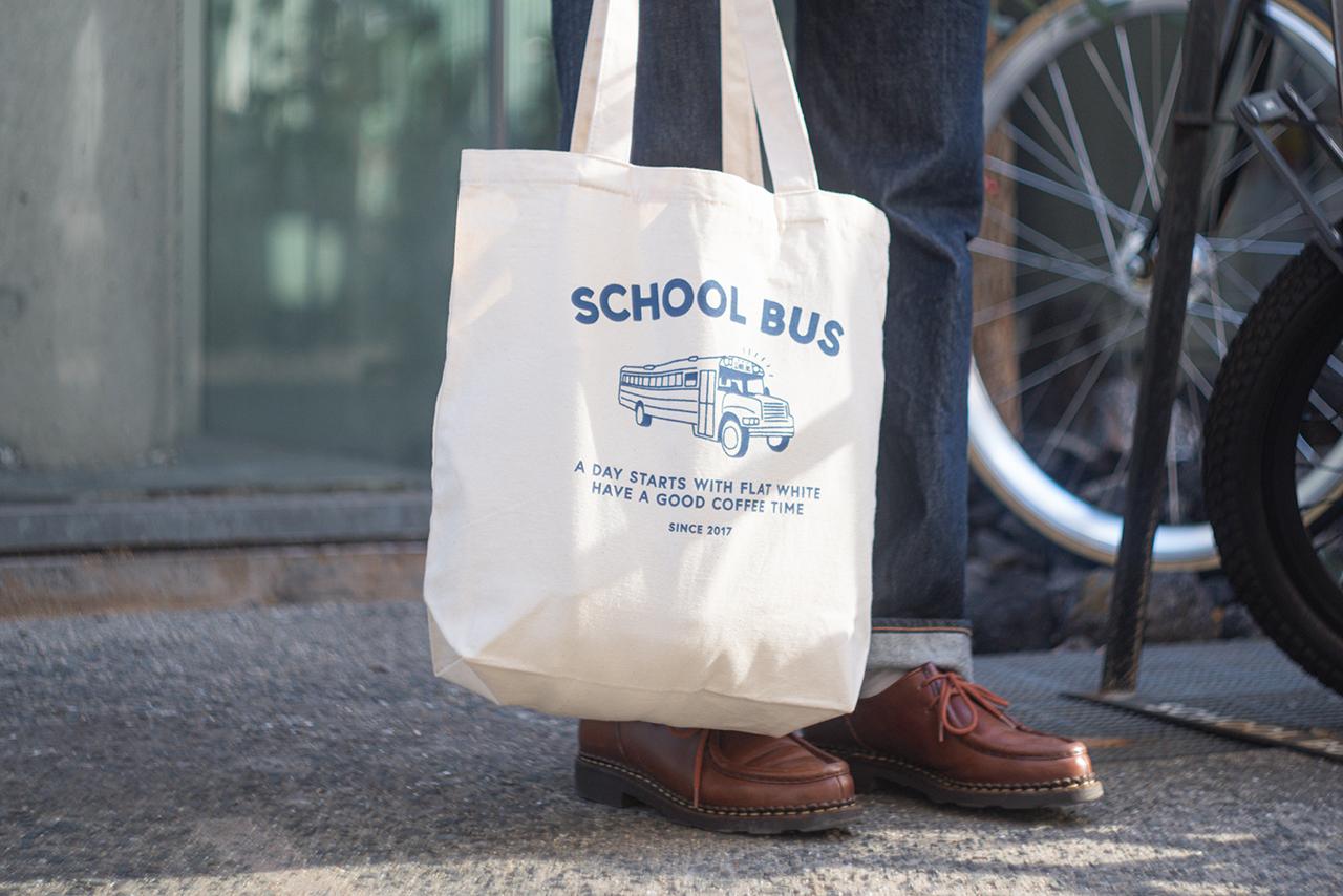 Original tote bag -Blue-