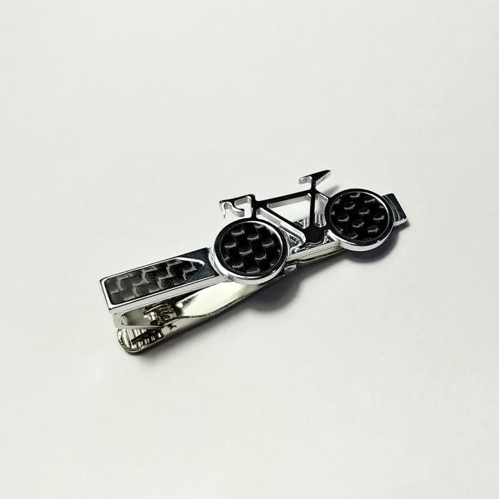 【自転車ネクタイピン】 ビジネス・カジュアル / おしゃれな男性へのプレゼントにも