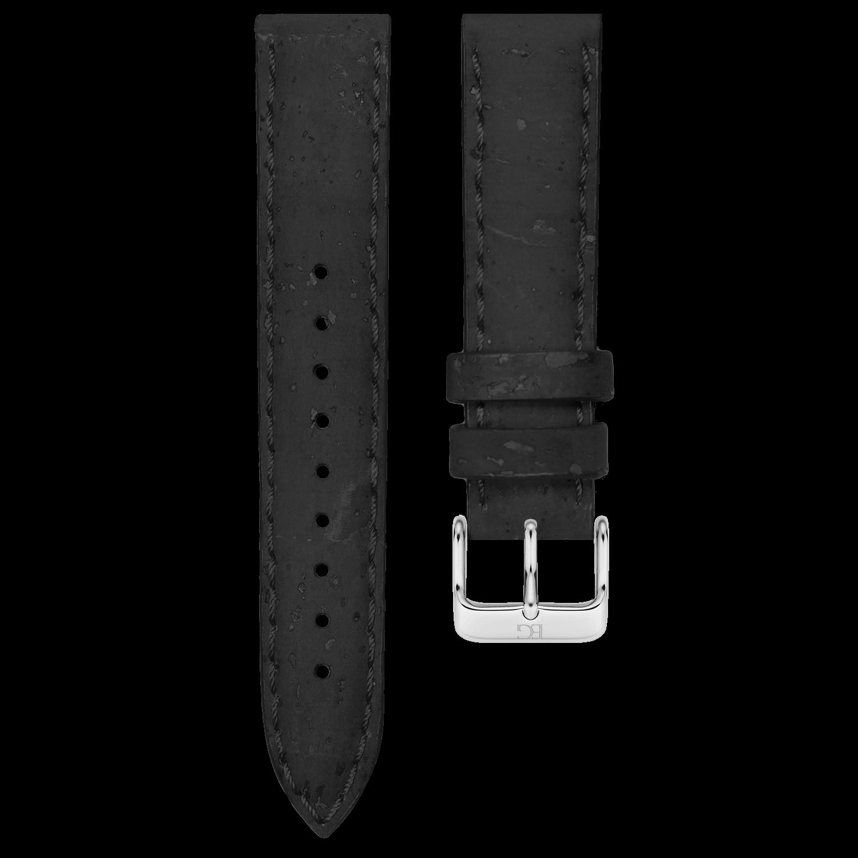 ■シグネチャーコルクストラップ(シルバー) 幅20mm 6カラー
