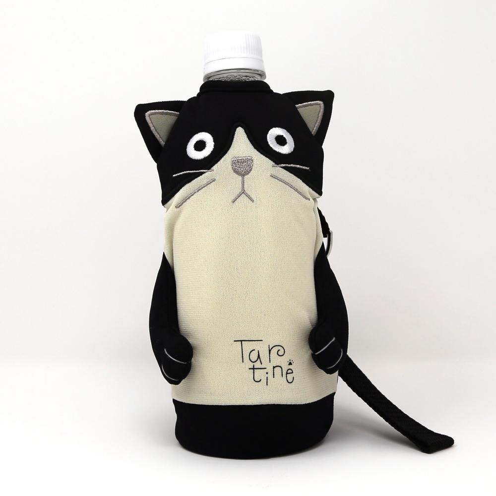 猫ペットボトルホルダー(シャロンタルティーヌ)ハチワレ