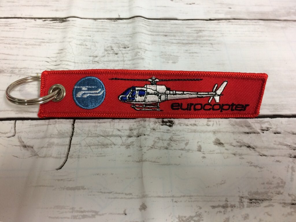 REMOVE BEFORE FLIGHTキーホルダー/Eurocopter AS355