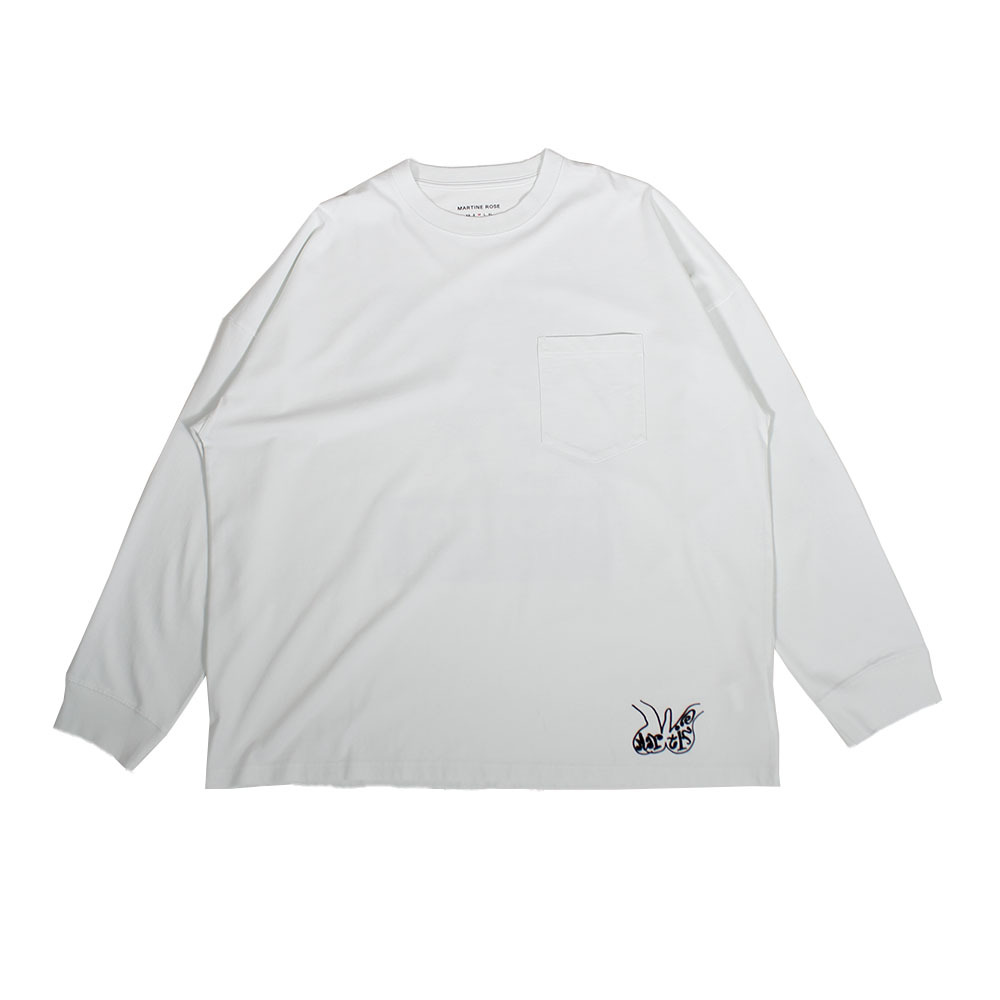 MARTINE ROSE Oversized FIt Long Sleeve Tee
