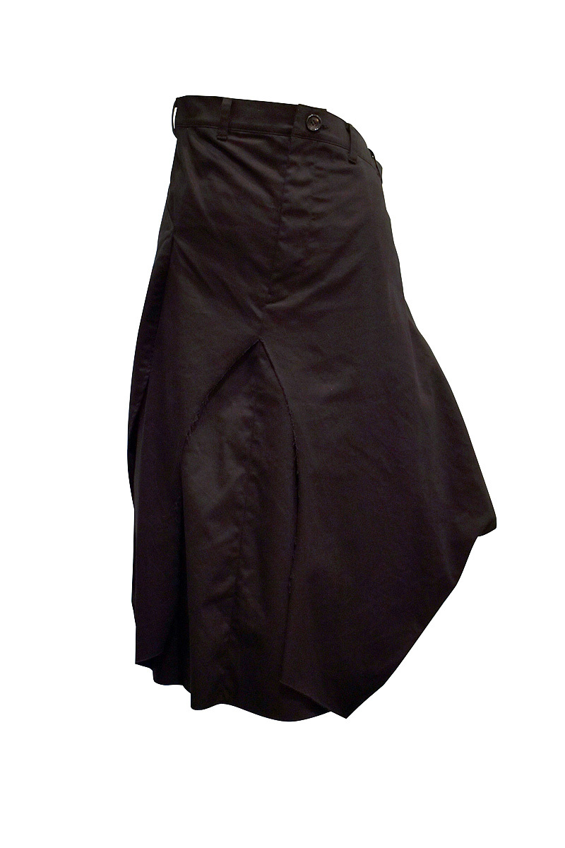 RIDDLEMMA / Color skirt / Black