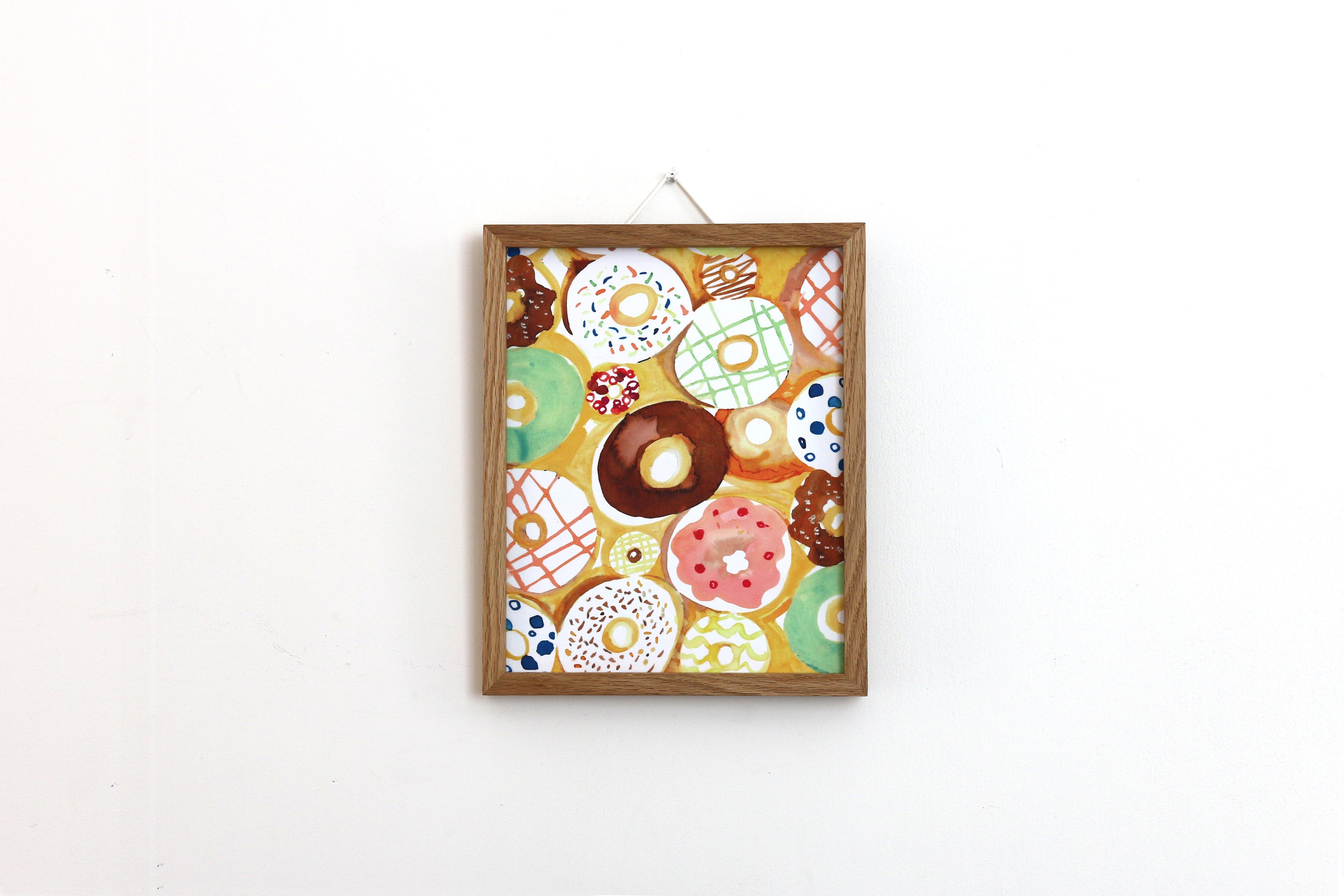 【アートフレーム】ドーナッツ -Paku Paku-