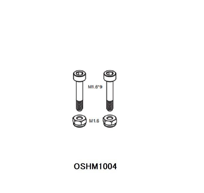 ◆M1メインローターホルダーネジセット  OSHM1004  (ネオヘリでM1購入者のみ購入可)