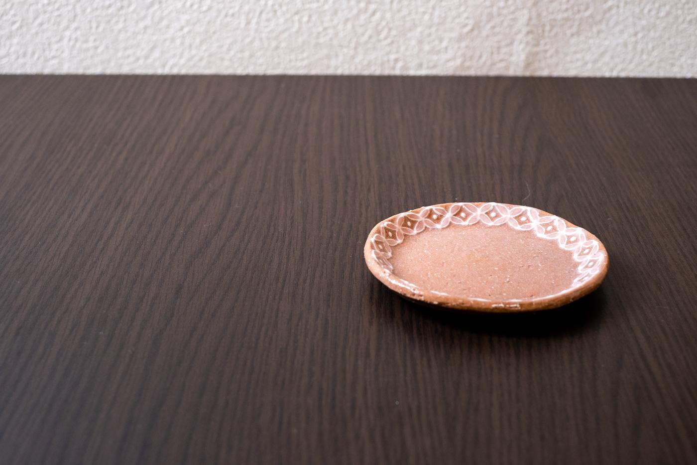 七宝紋小皿【白/青/ピンク】