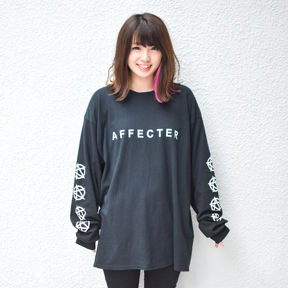 【AFFECTER | アフェクター】CLASSIC BEFORE L/S Tee (Black)