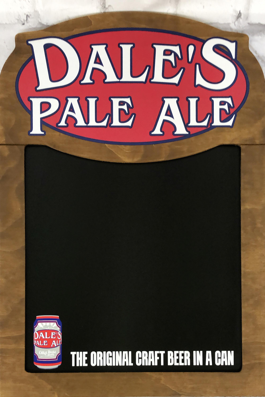 品番0040 サインボード 『DALE'S PALE ALE』 看板 壁掛 木製 ディスプレイ