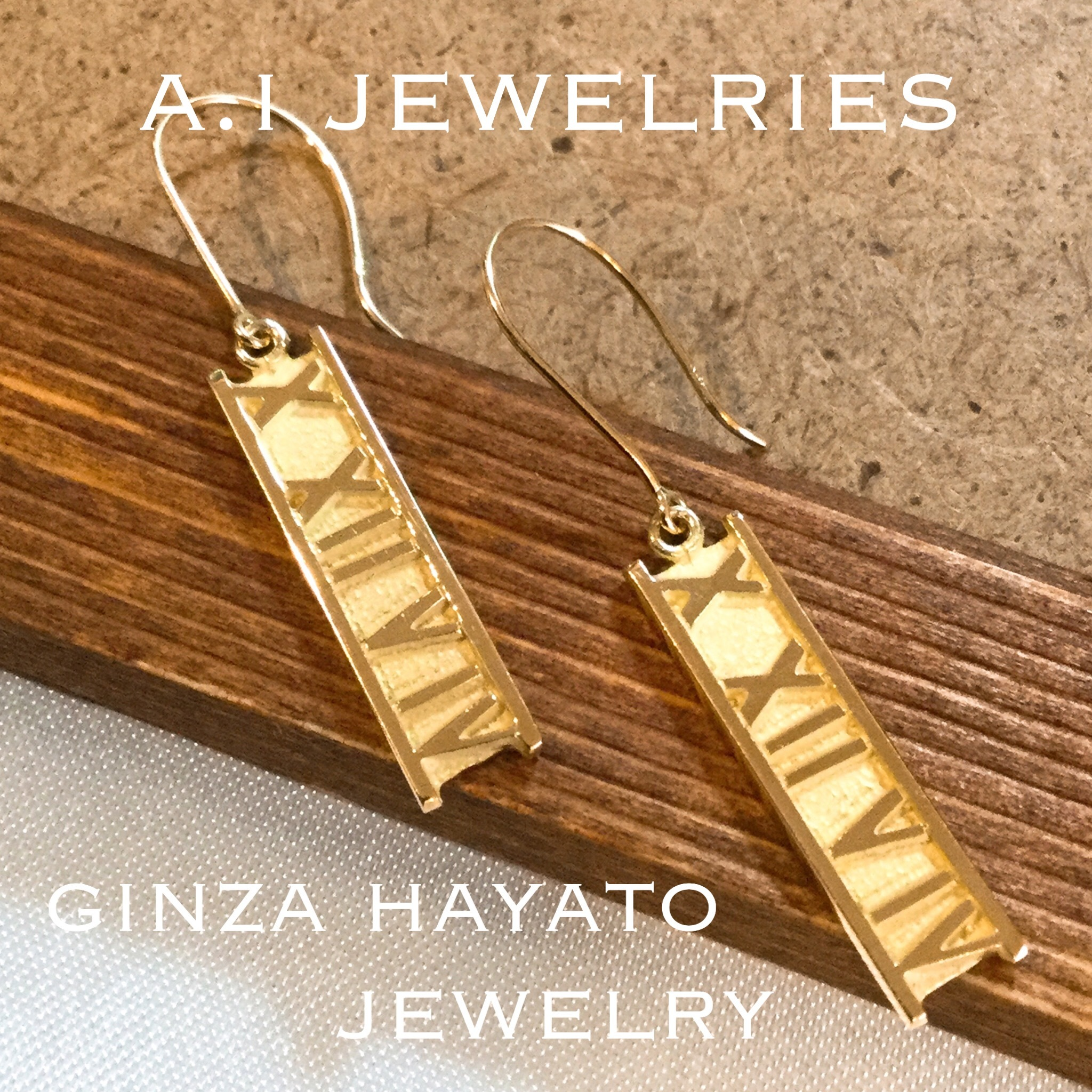 finest selection 219c2 d4204 k18 18金 アトラス ピアス   A.I JEWELRIES / エイアイジュエリーズ powered by BASE