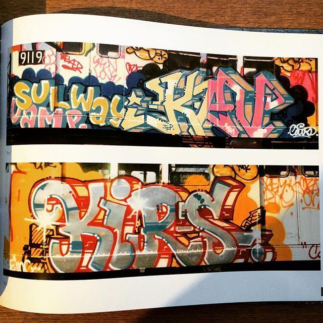グラフィティアートの本「From the Platform: Subway Graffiti, 1983-1989」 - 画像2
