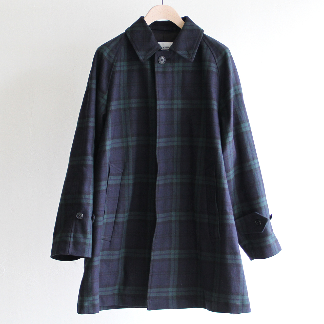 STAMMBAUM【 mens 】balmacaan coat (black watch)