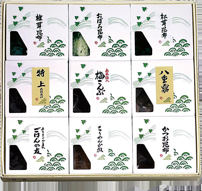 KA-48 松茸佃煮詰合せ(9品) - 画像1