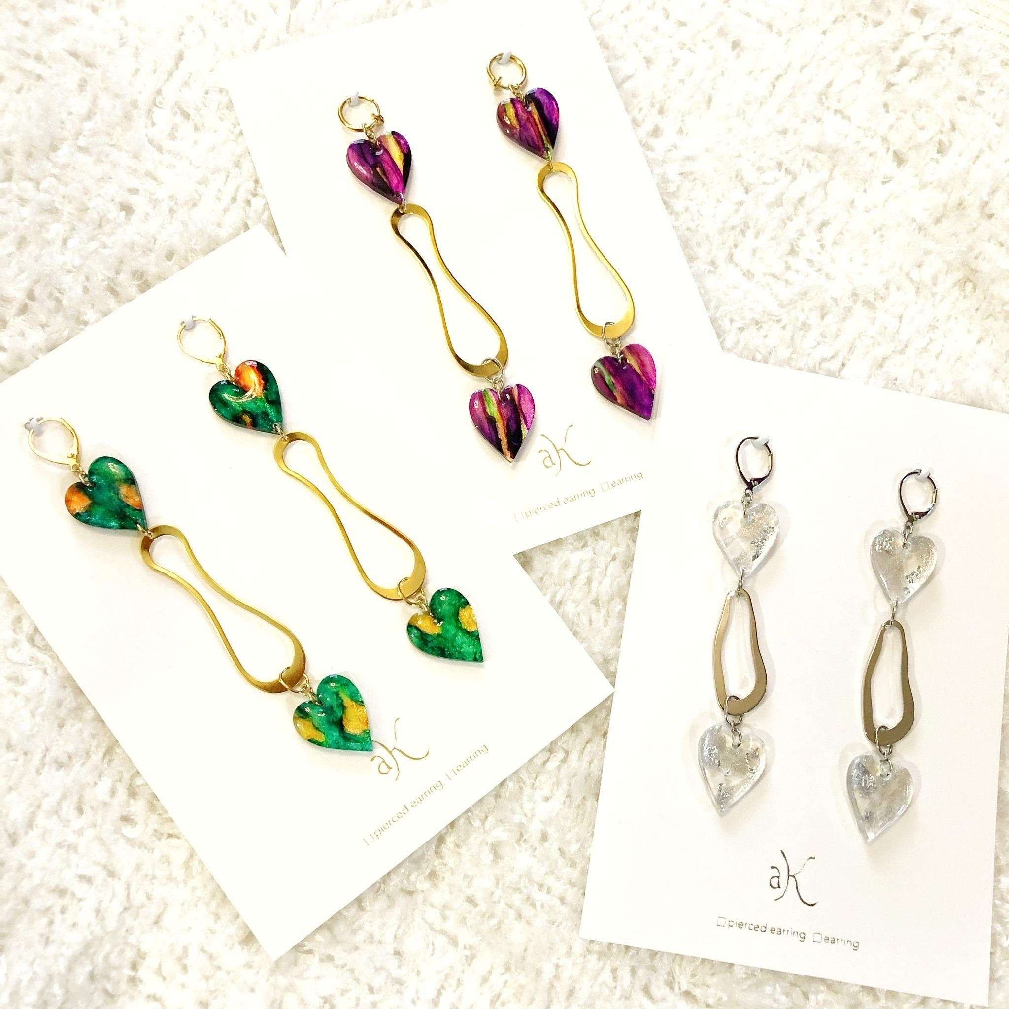 ♡ lady pierced earrings/earrings