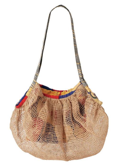 【ピープルツリー】ジュート編みバッグ
