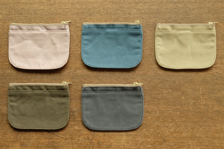 mini財布《79Aパラフィン帆布》