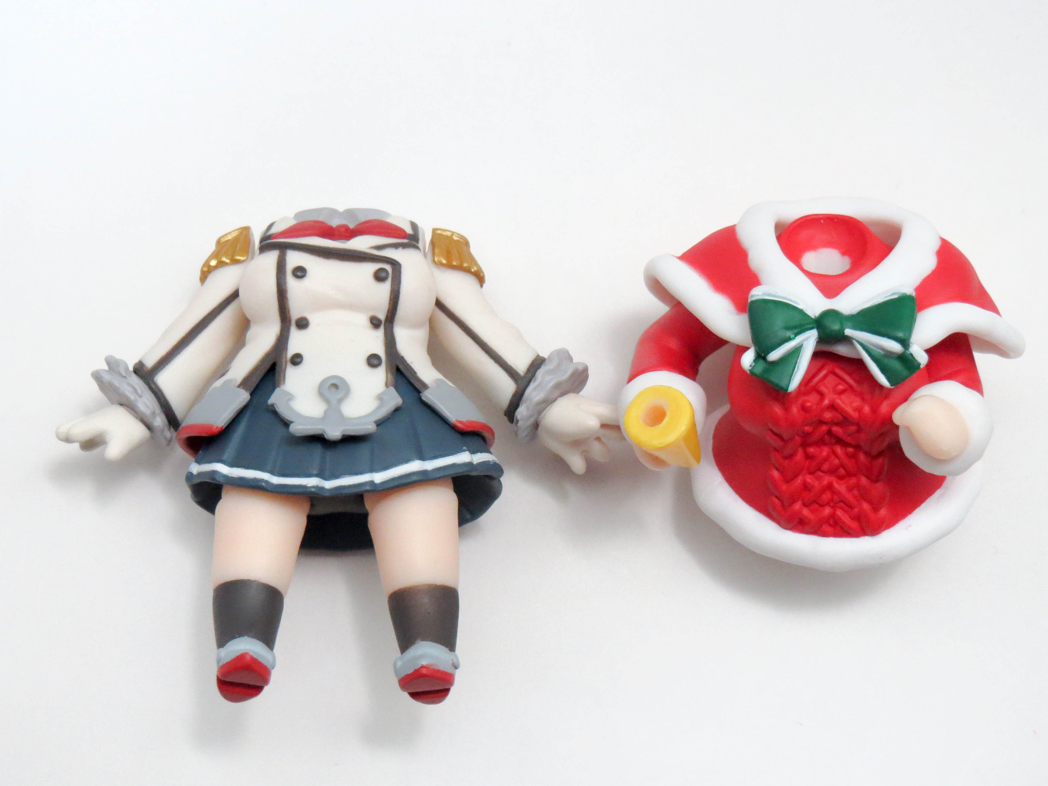 再入荷【656】 鹿島 体パーツ 戦闘服、クリスマス仕様服 ねんどろいど