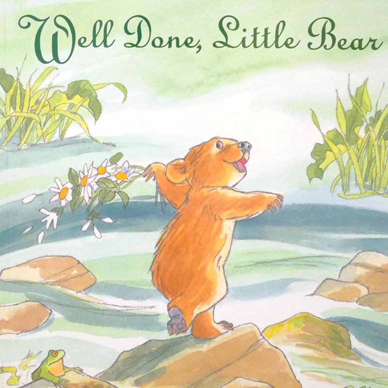Well done,Little Bear