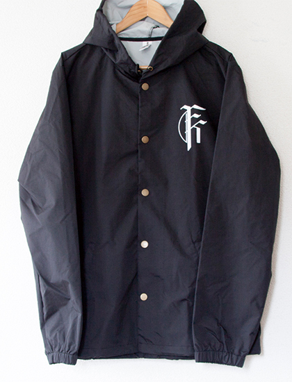 【FIT FOR A KING】Deathgrip Skull Windbreaker (Black)