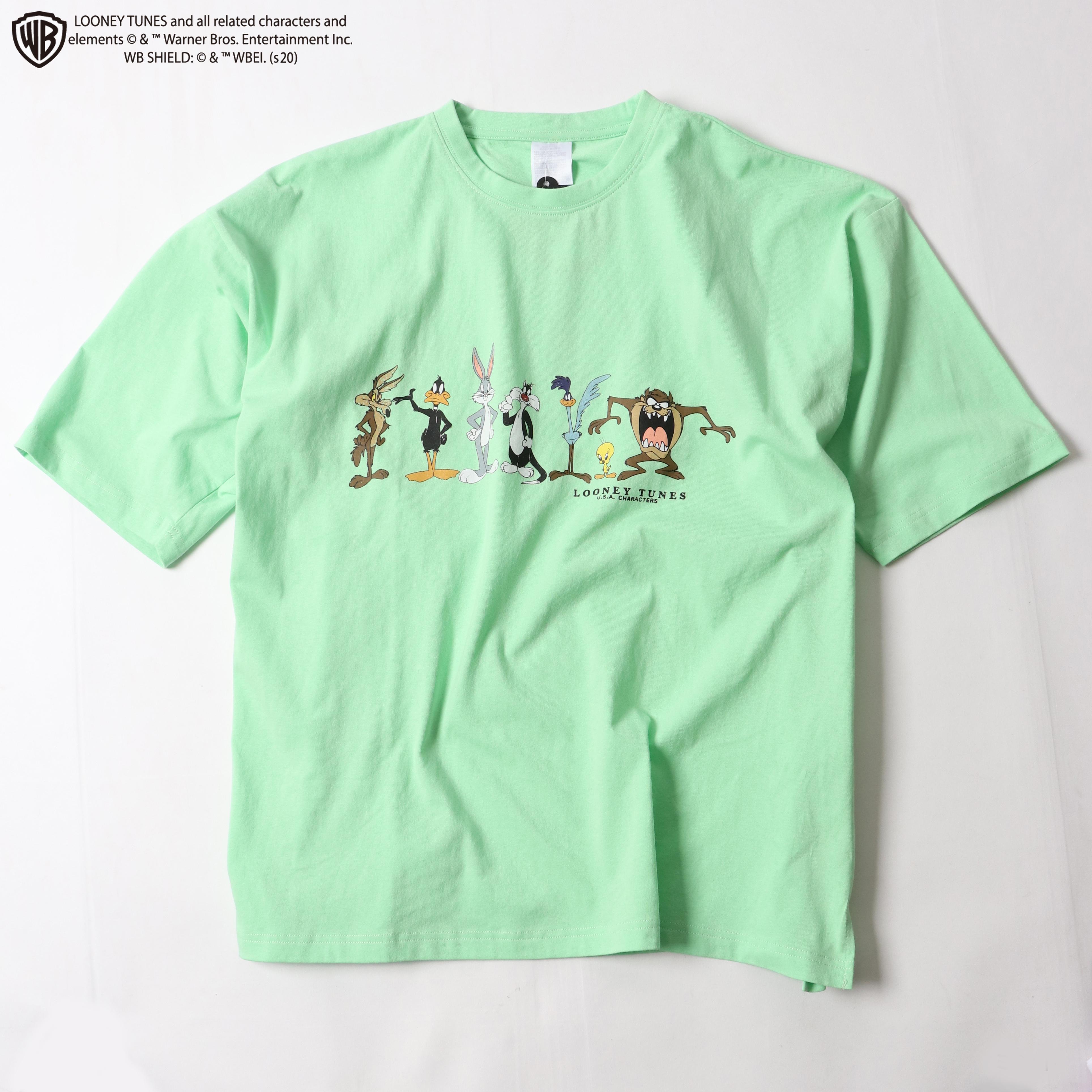 両面プリントオーバーシルエットTシャツ【ルーニーテューンズ】 NO0530121