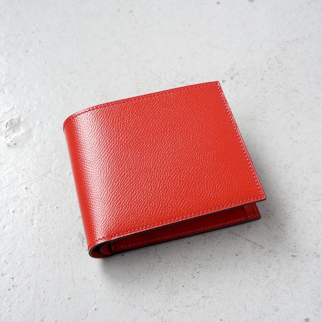 二つ折財布 <Regulus> レッド