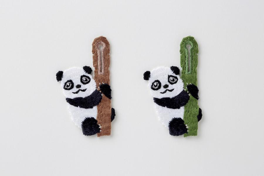 ボタンアクセサリー bamboo PANDA