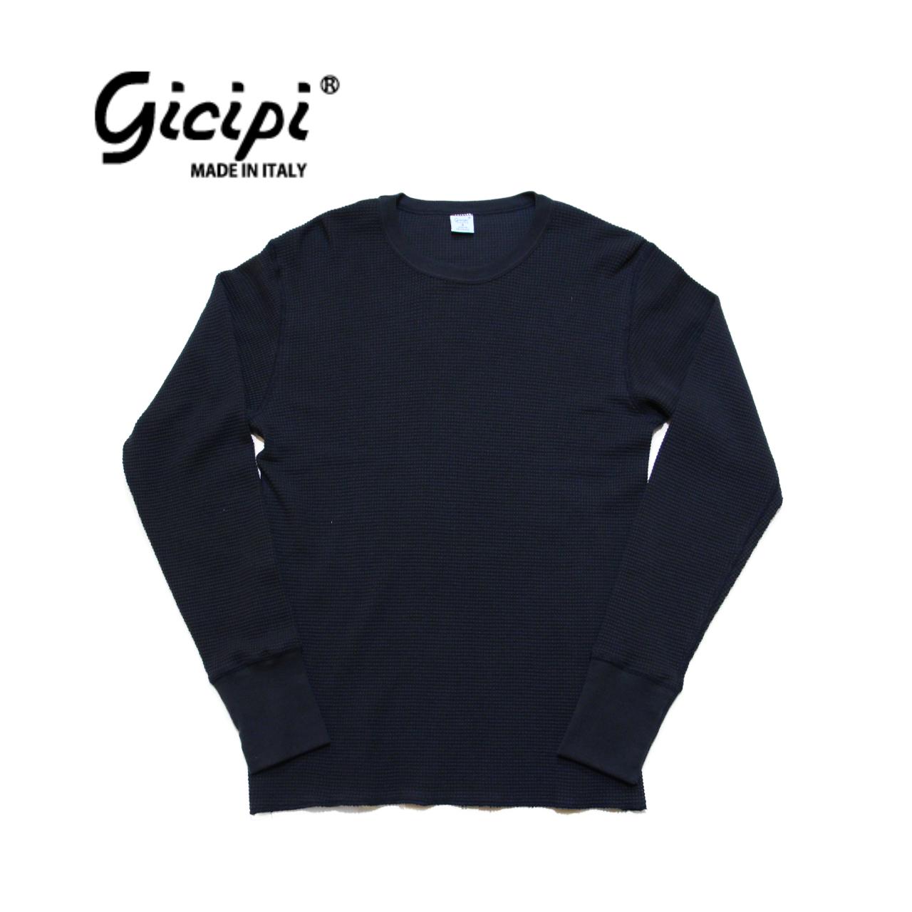 【gicipi】 ヘビーウェイト サーマル (Giro Collo M 1904 A) 〈Navy〉