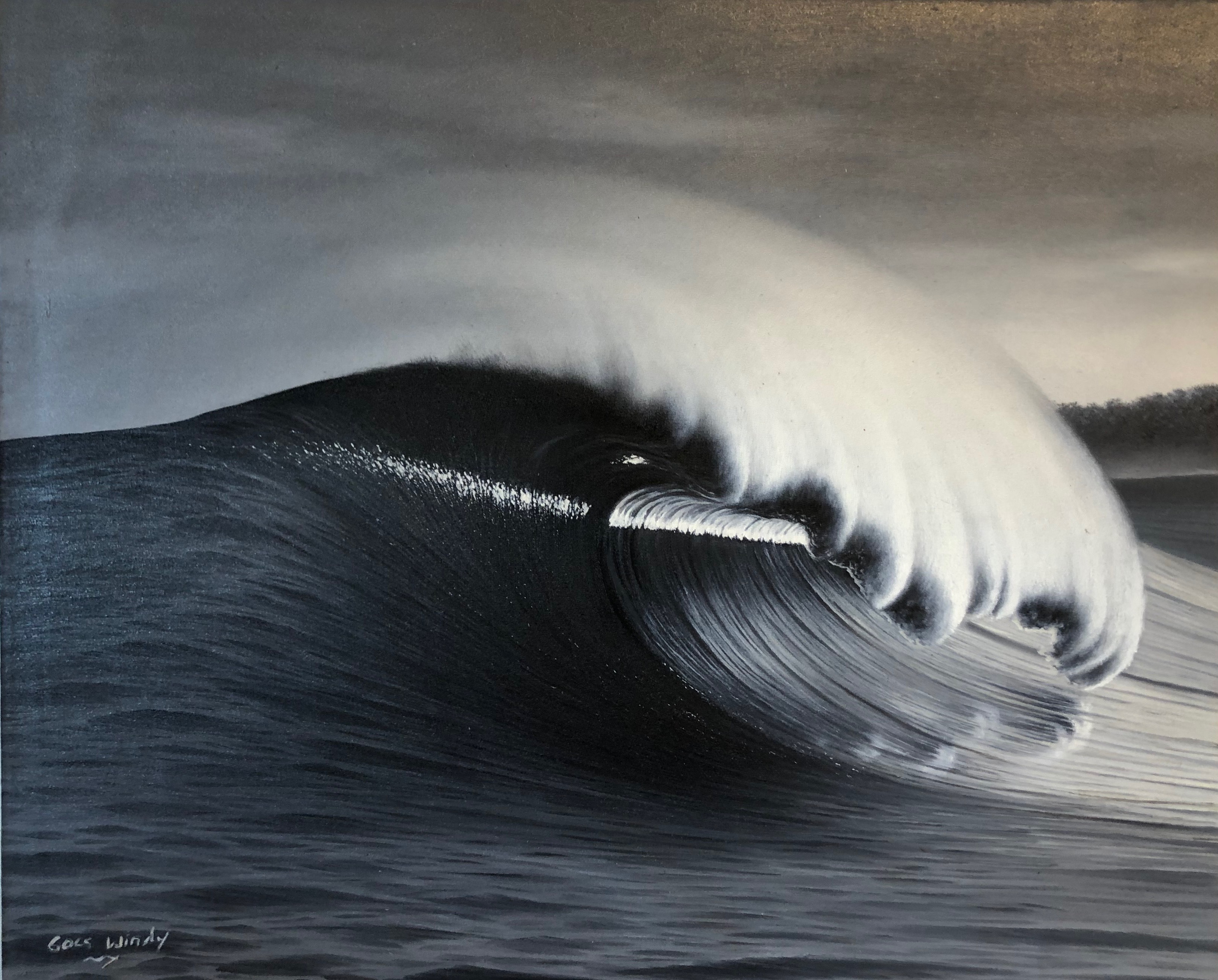 Dreamland Wave Art F15