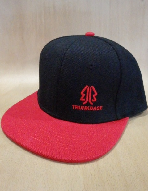 TRUNKBASE SNAPBACK CAP Black×Red