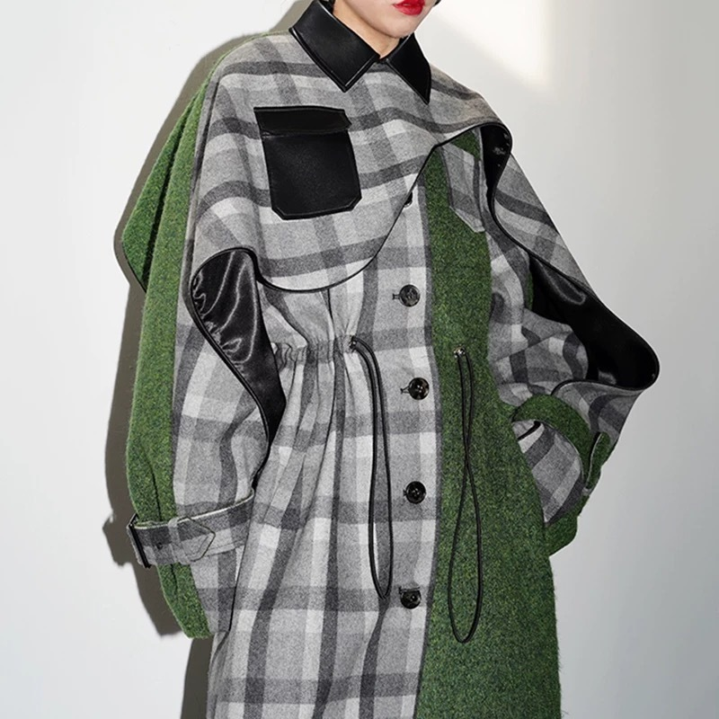individual check over jacket
