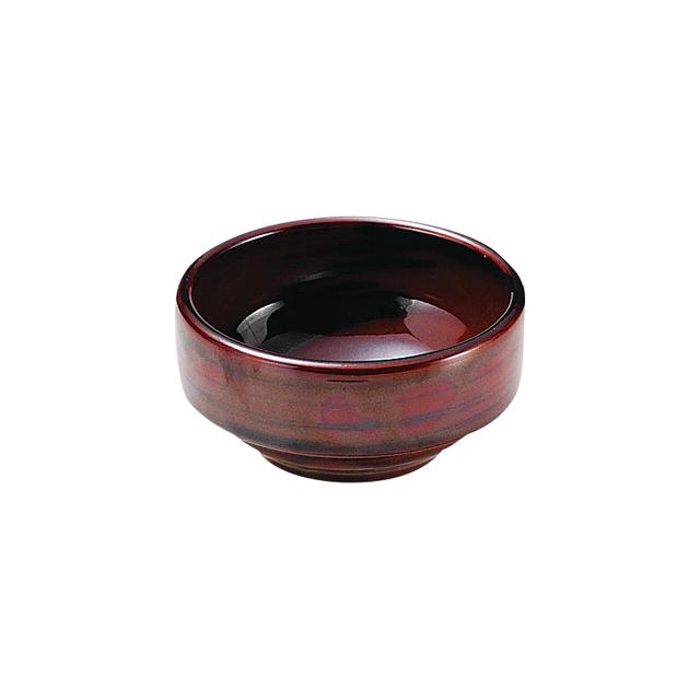 【1711-6010】強化磁器 9cm すくいやすい食器 なつめ