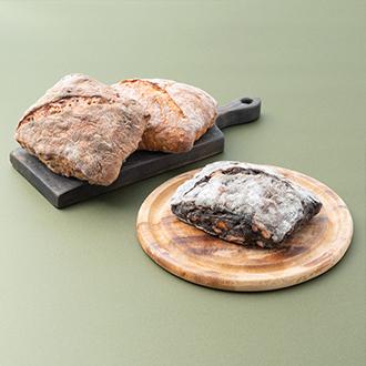 【Zopf】3種の新麦リュスティック食べくらべセット
