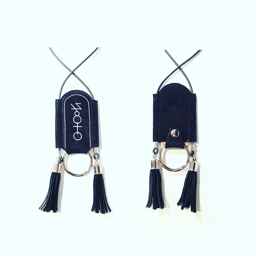 nahezu≒gleich / levi necklace(blk) - 画像3
