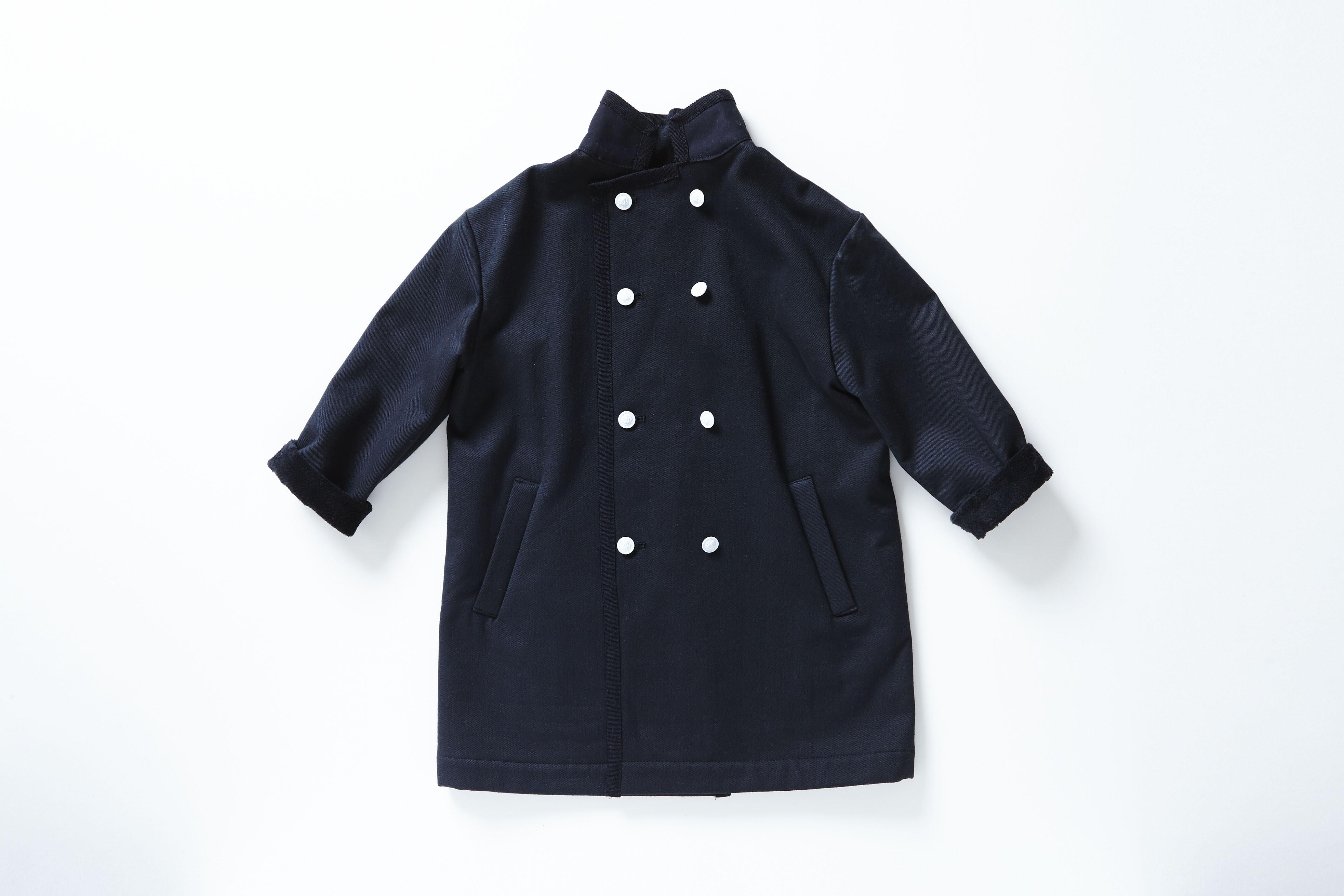 《cokitica 2015AW》Hakushaku coat / black / S・M